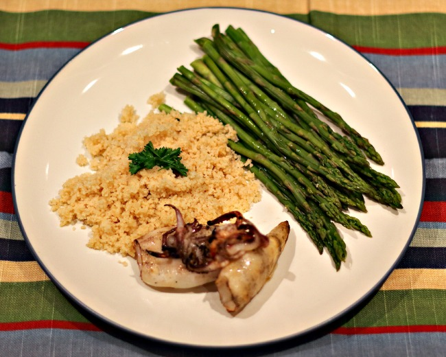 squid with couscous1